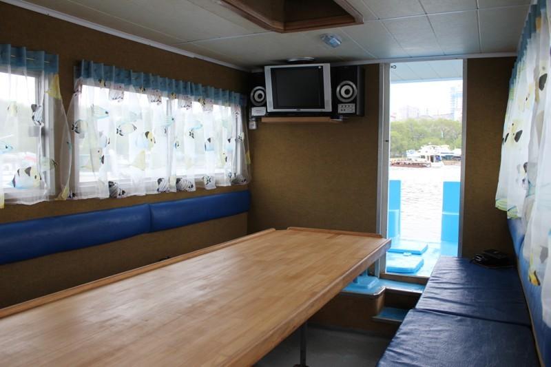 камбуз на лодке