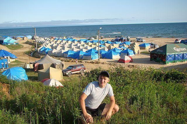 базы в андреевке с палатками большой сайт
