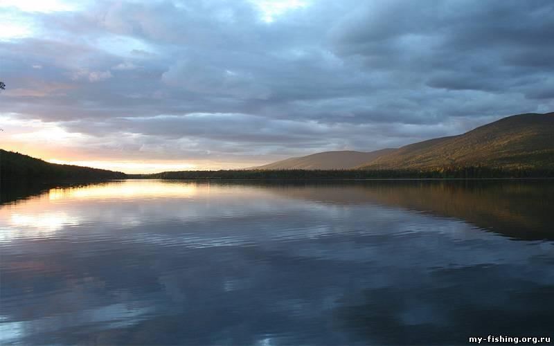 рыбалка на озере нерпичьем