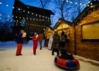 Праздничная деревня открылась в пригороде Владивостока