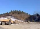 Строительство горнолыжной базы вблизи села Натальино (Амурская область).