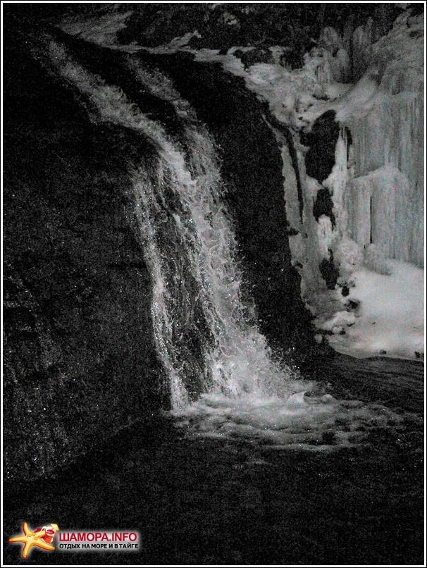 бог-природа нас миловала и наградила видом ночного водопада. к слову, 2км по ручью шли 2 часа. | Горы Пржевальского