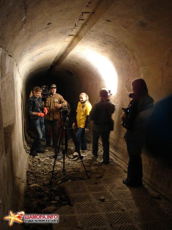 Съемочная группа снимала кино :) | Субботник на форте №3 Владивостокской крепости