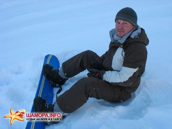 Грибановка: снег есть, но мало. | Рейд по горнолыжкам