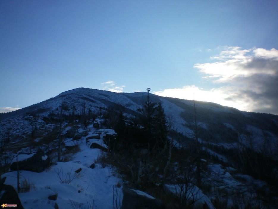 Вид на вершину Пидана. | Пидан ноябрь 2008