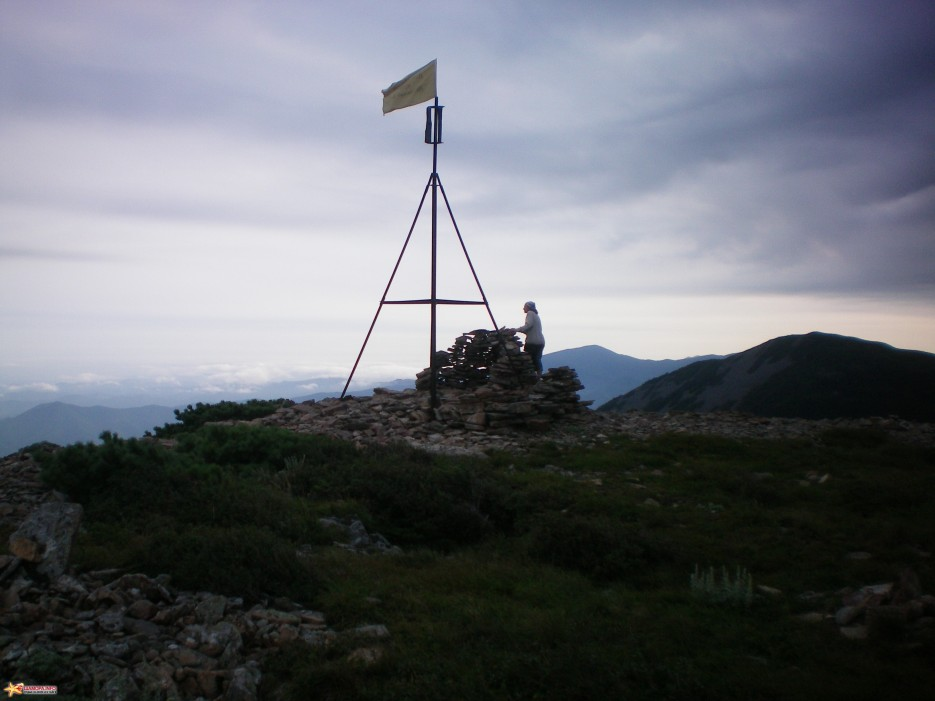 Вершина г. Лысая. Вечер. Август. | г. Лысая (1560 м) (Партизанский хребет)