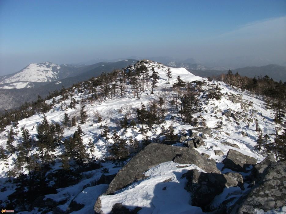 Ливадийский хребет. Зима. | Пидан 30-31.01.2010