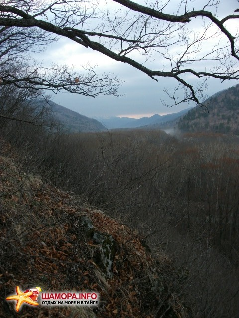 Утро над отрогами Партизанского хребта | Весна  на Алексеевке