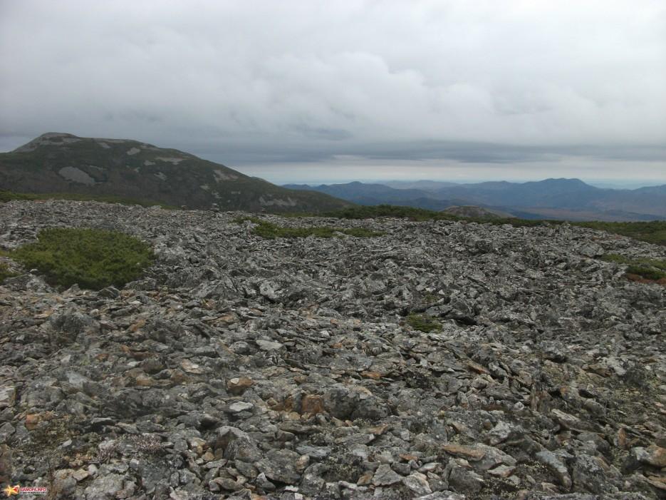 Вид с плато на юго-восток | Облачная 09-10.10.10