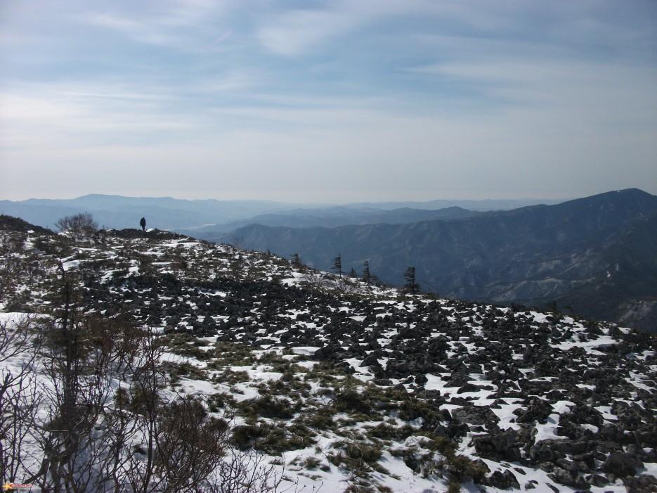 На вершине горы Белой | Зима на Партизанском хребте