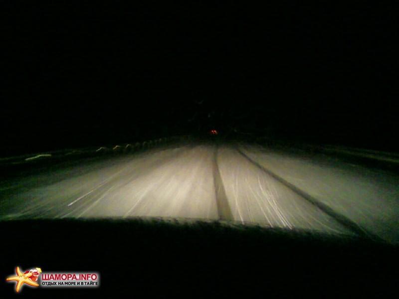 Ночь перед Хабаровском, во Владе пошел дождь...к хабаровску все это превратилось в лед | Поездка Владивосток — Новосибирск 19.03.08-24.03.08