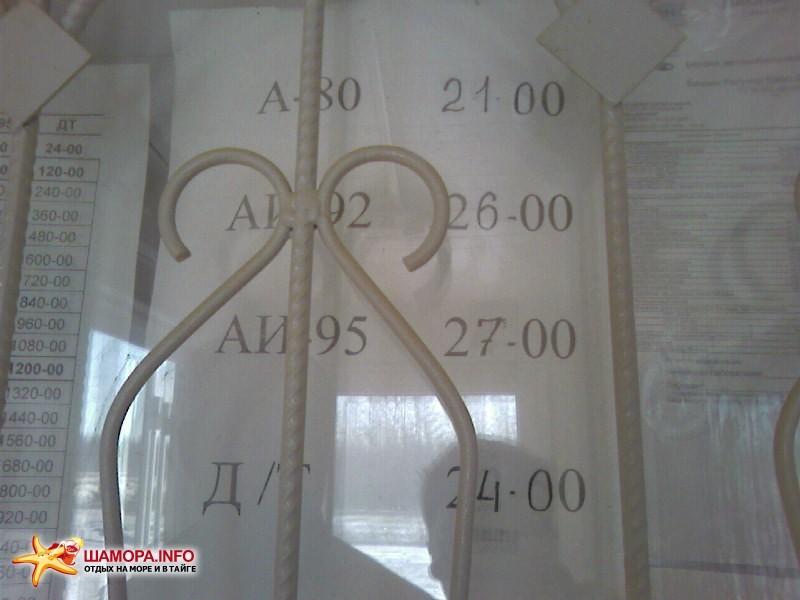 Цены у монопалистов, отличалось от города на 3-4 рубля | Поездка Владивосток — Новосибирск 19.03.08-24.03.08