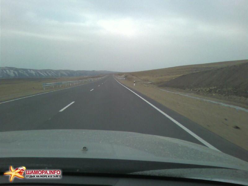 вот такие дороги появляются на федералке | Поездка Владивосток — Новосибирск 19.03.08-24.03.08