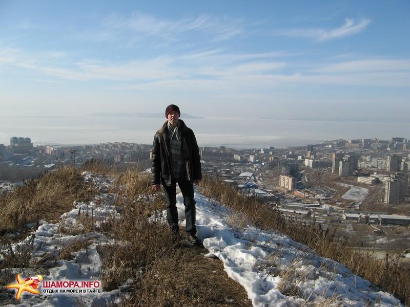 """Фото 13975   сопка""""холодильник"""".Владивосток."""