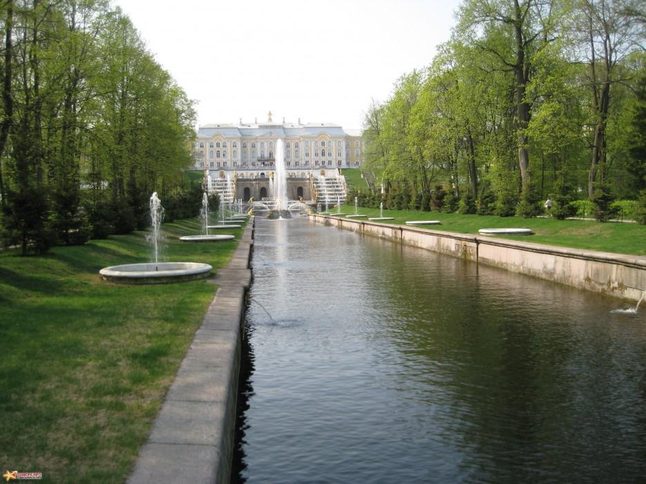 Фото 14617 | фонтаны петродворца-май 2010