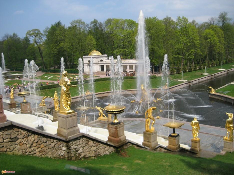 Фото 14621 | фонтаны петродворца-май 2010