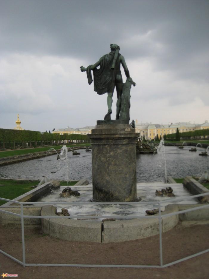 Фото 14625 | фонтаны петродворца-май 2010