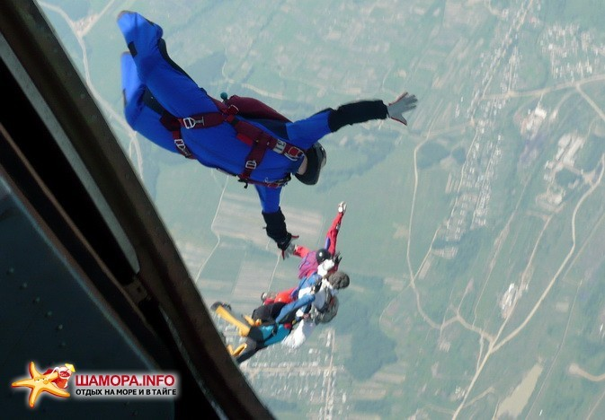 Фото 15949 | парашютные прыжки в Арсеньеве 28 — 29 июня 2008г