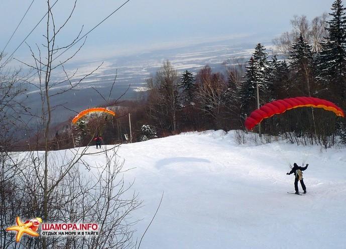 Фото 15976 | Полёты с горы в Арсеньеве