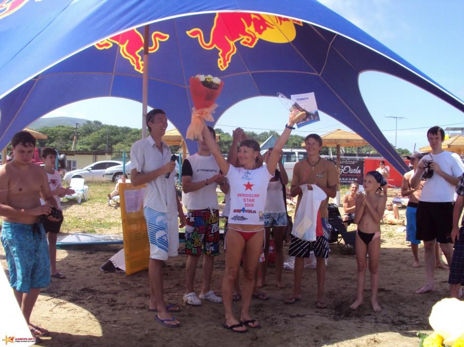 Фото 16927 | Соревнования по виндсерфингу среди женщин WindSurf STAR 2009 на Шаморе!!!