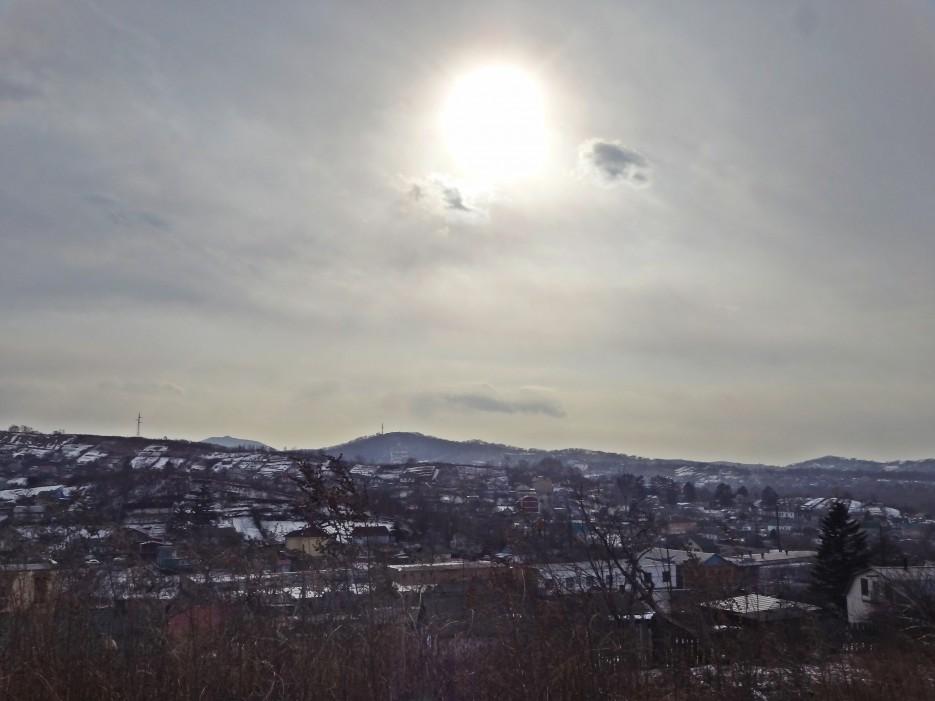 Солнце над Приморьем г.Артем | Приморье