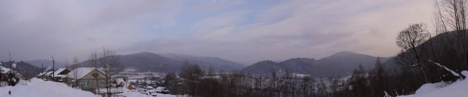 Панорама пос. Восток | По дороге на Восток