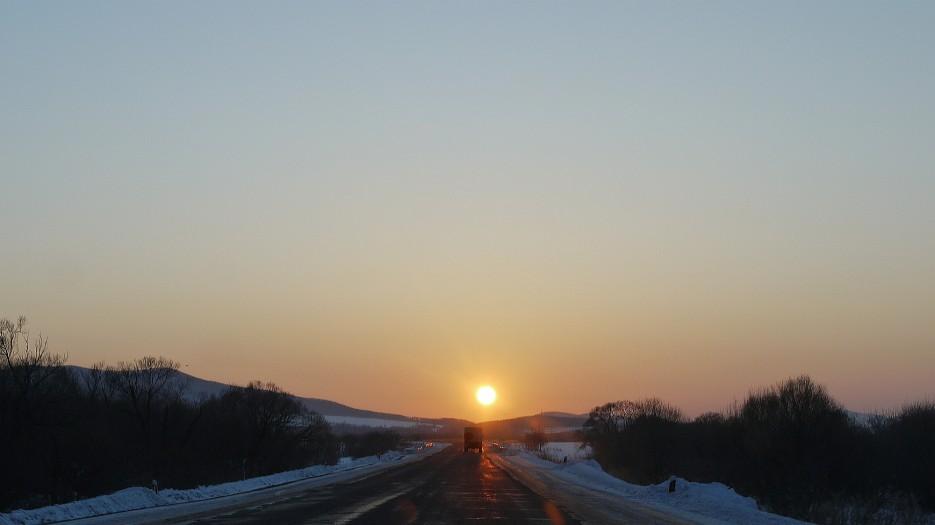 В погоне за солнцем....Домой, пора домой | По дороге на Восток