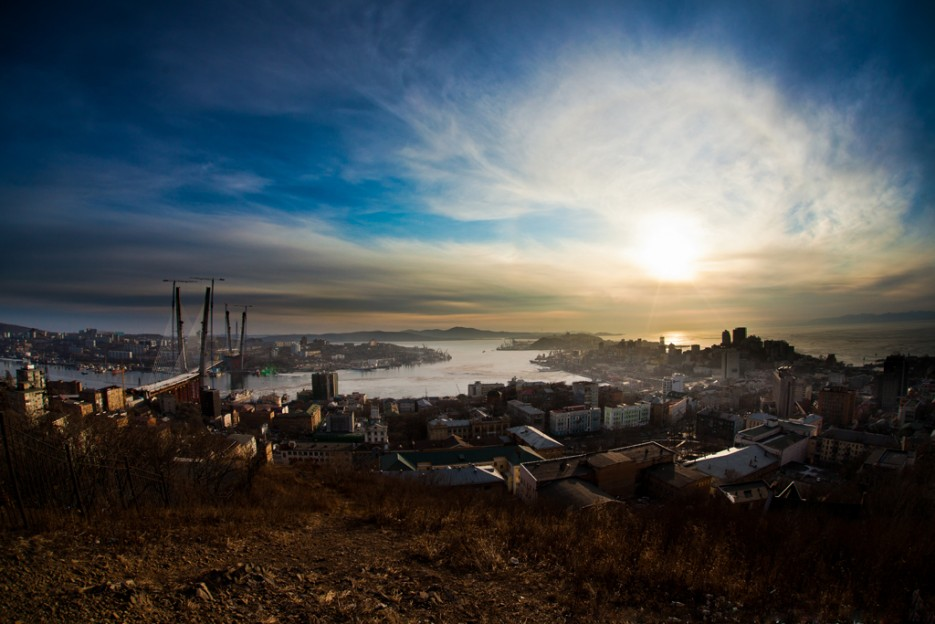 вид на Владивосток с Орлинного гнезда | Владивосток