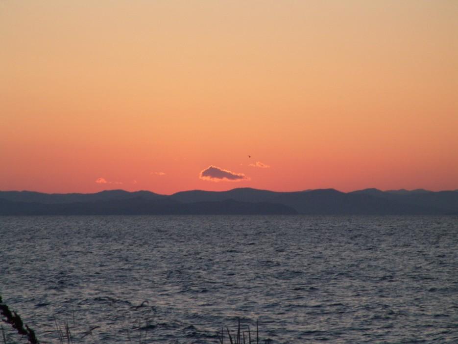 Закат. Остров Рикорда. | Рассветы и закаты. Остров Рикорда.