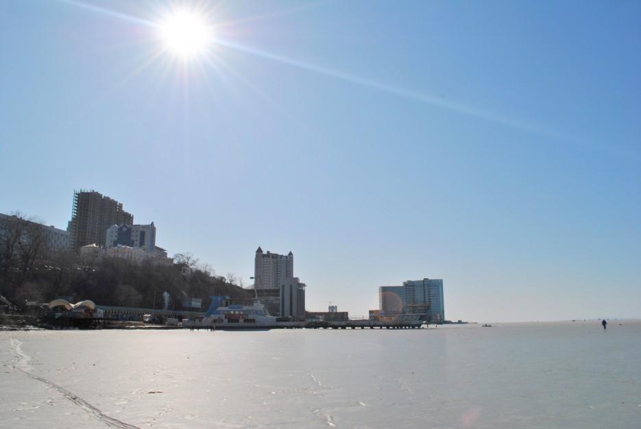 Первое действительное теплое солнышко зимой* | Владивосток