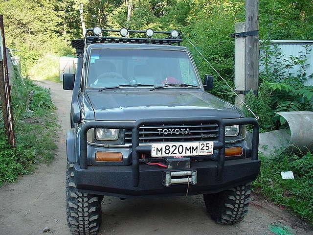 Тюнинг Toyota Land Cruiser Prado 78 vl4x4.ru | Внедорожные авто