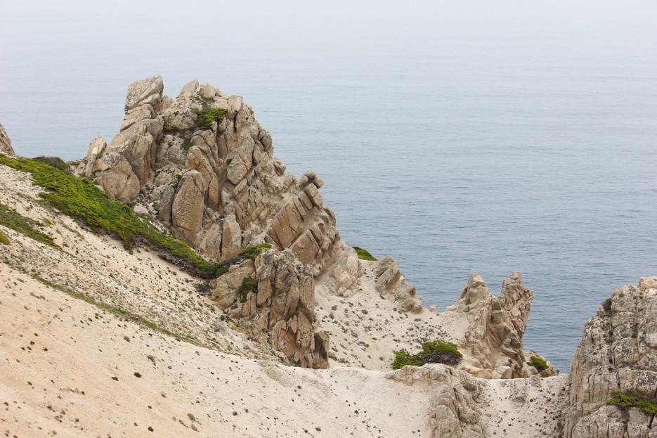 Белые скалы побережья | Летние виды Преображения