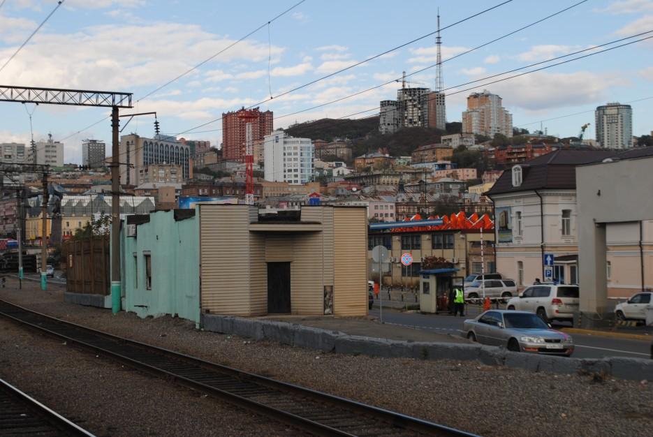 Вид с жд вокзала | Владивосток