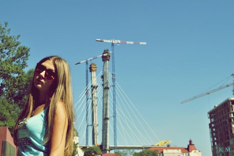 Мост в процессе | Владивосток