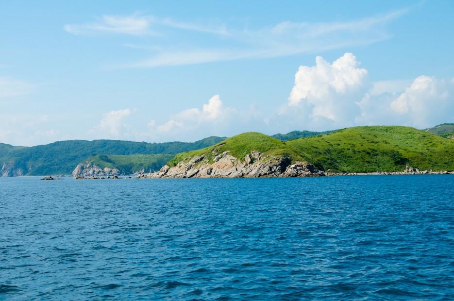Полуостров Мыс Таранцева в бухте Витязь   Андреевка - Гамов