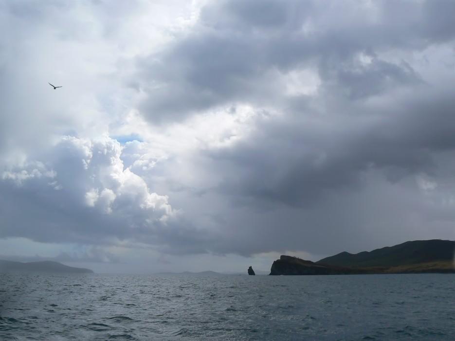 Облака.   П-ов Брюса. | ...А остальное - острова...  Хасанский район (альбом1)