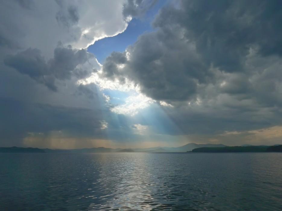 Луч.  Славянский  Залив. | ...А остальное - острова...  Хасанский район (альбом1)