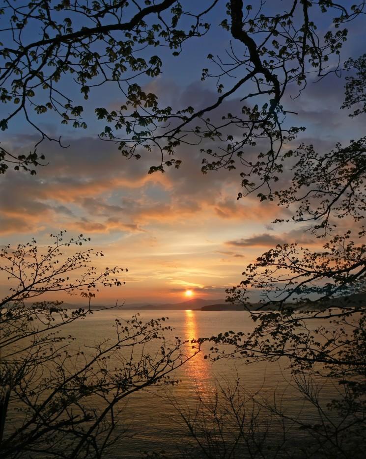 Вечер.  Славянский Залив. | ...А остальное - острова...  Хасанский район (альбом1)