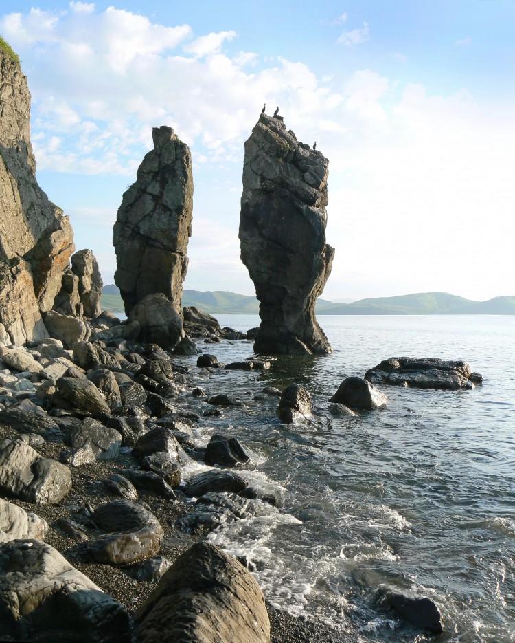 Пальцы. На острове Герасимова. | ...А остальное - острова...  Хасанский район (альбом1)