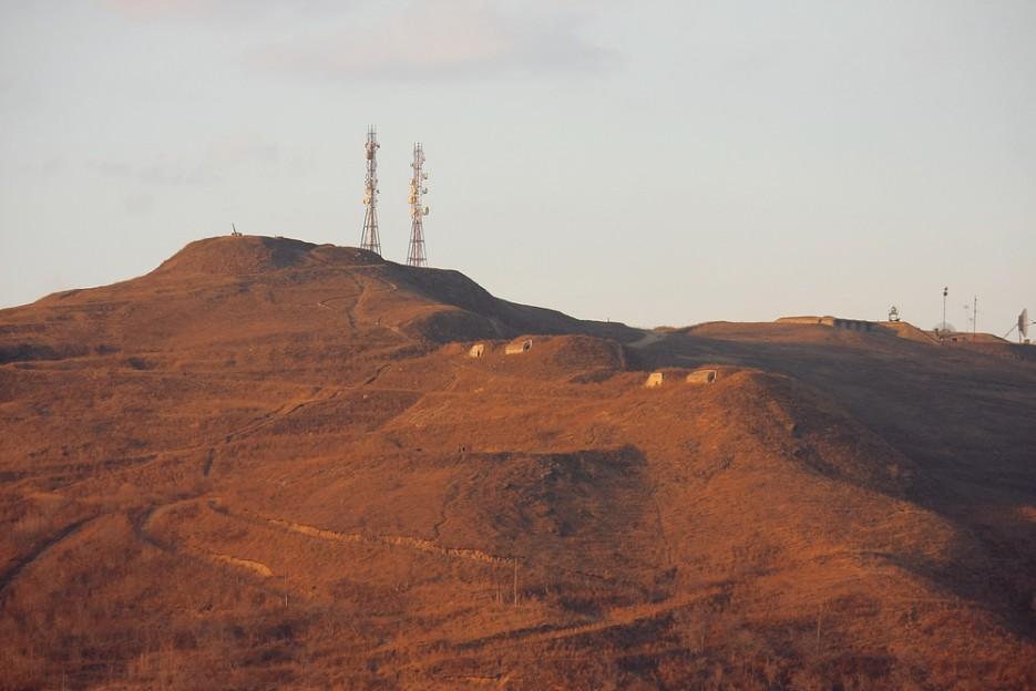 г. Холодильник. Поздняя осень. Сухопутные батареи Владивостокской крепости.   Владивосток моими глазами
