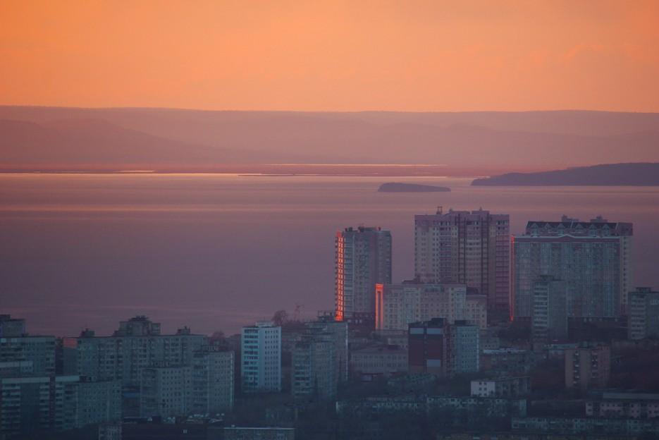 Вид на Вторую речку с Холодильника. | Владивосток моими глазами