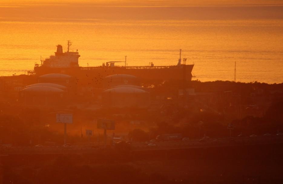 Стая городских птиц над нефтебазой на берегу Амурского залива | Владивосток моими глазами