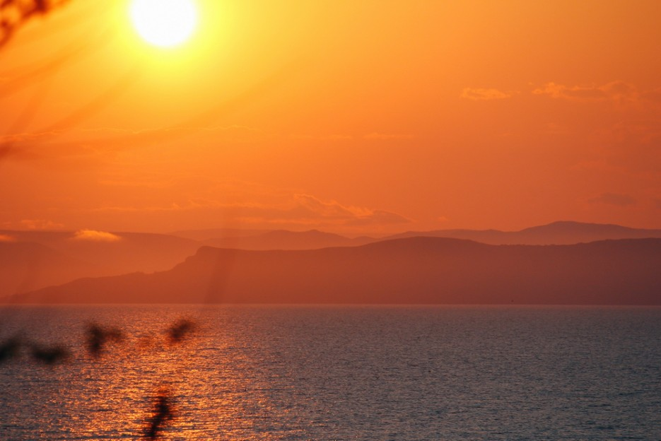 Закат над Амурским заливом. | Владивосток моими глазами