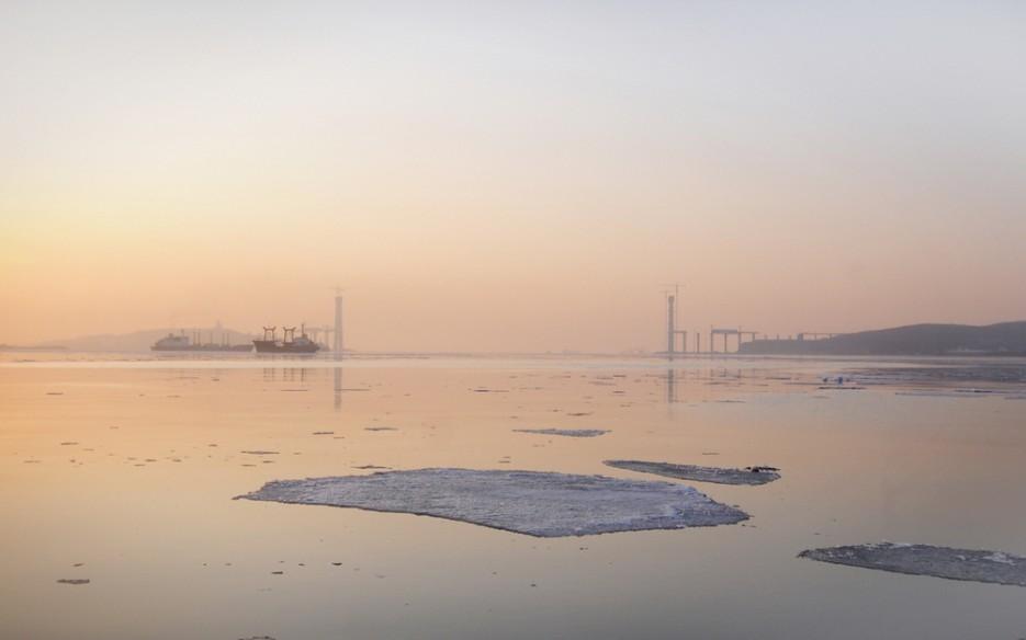 Мост на о. Русский. Весенний рассвет. | Владивосток моими глазами