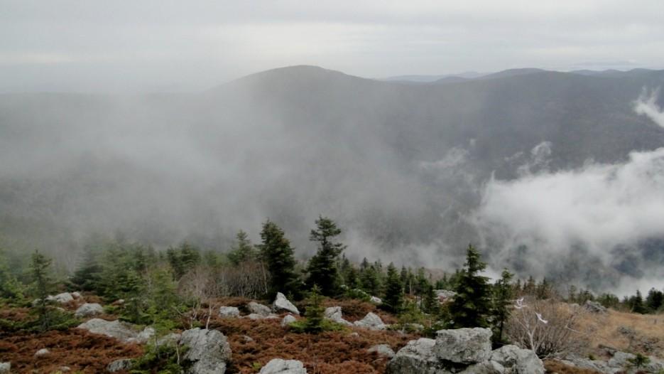 Туманы на Фалазе  частое явление. | гора Фалаза (Литовка). Шкотовский р-он.