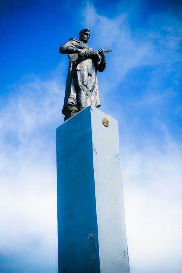 Памятник одинокому воину | Пограничный район, п. Пограничный