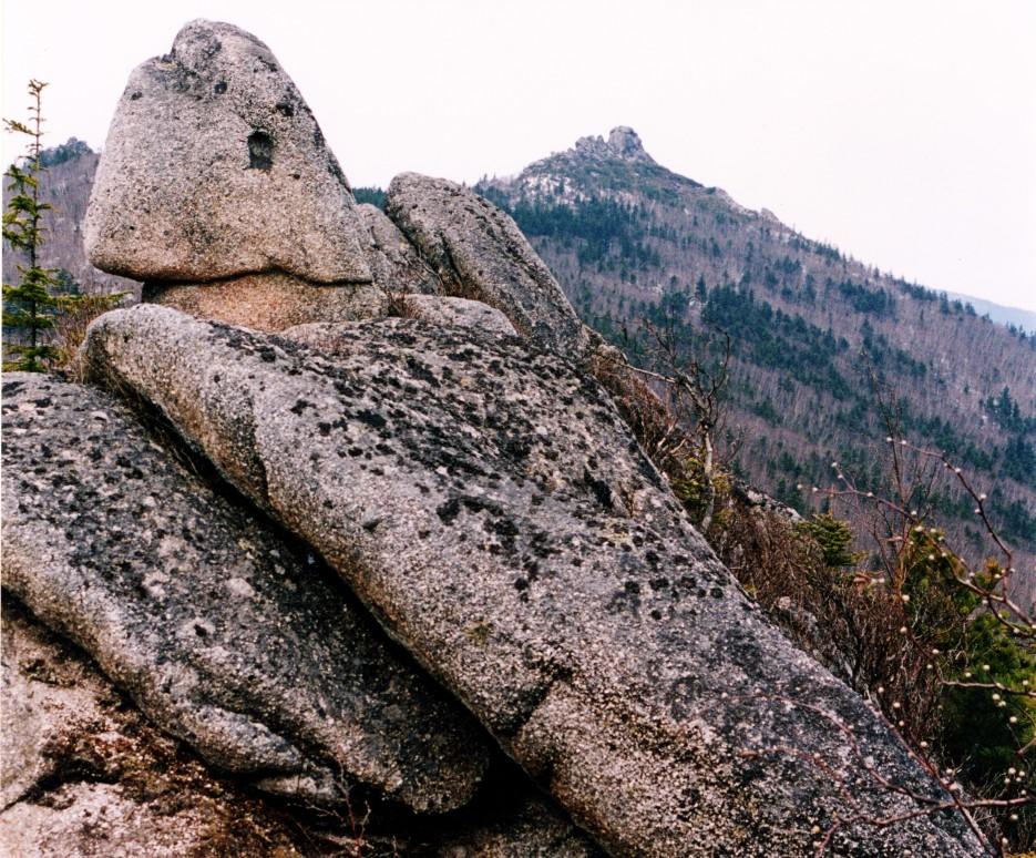 Хребет зубы Дракона. Лазовский район. по дороге к горе Сестра. | Гора Сестра и хребет Зубы Дракона