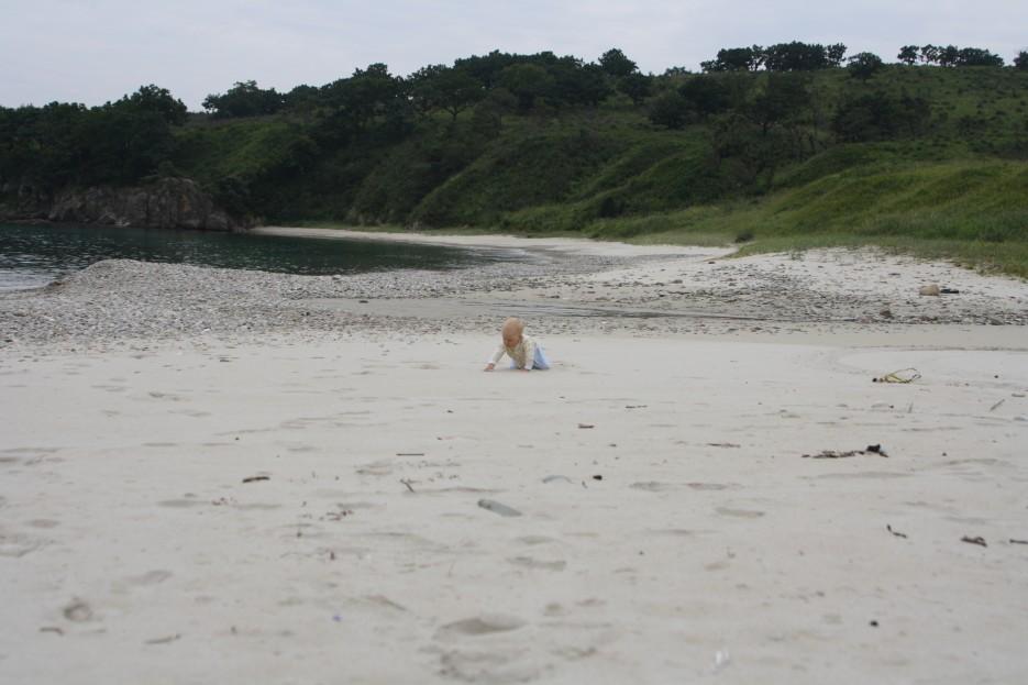Чистый песок бухты Средняя. Морской заповедник. | Южное приморье.
