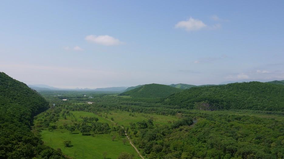 Вид на долину | Партизанский р-н