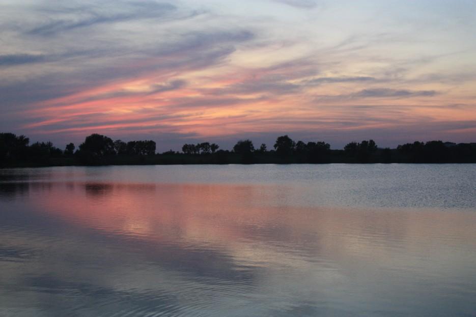 Какой красивый там закат | Сибирцево